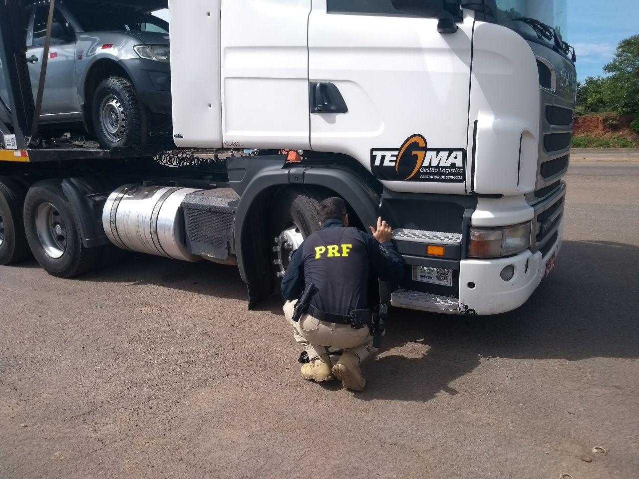 PRF de Paraíso recupera veículo roubado
