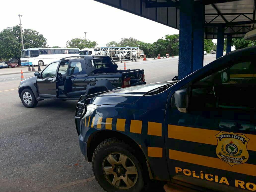 PRF recupera veículo objeto de crime em Pugmil (TO)