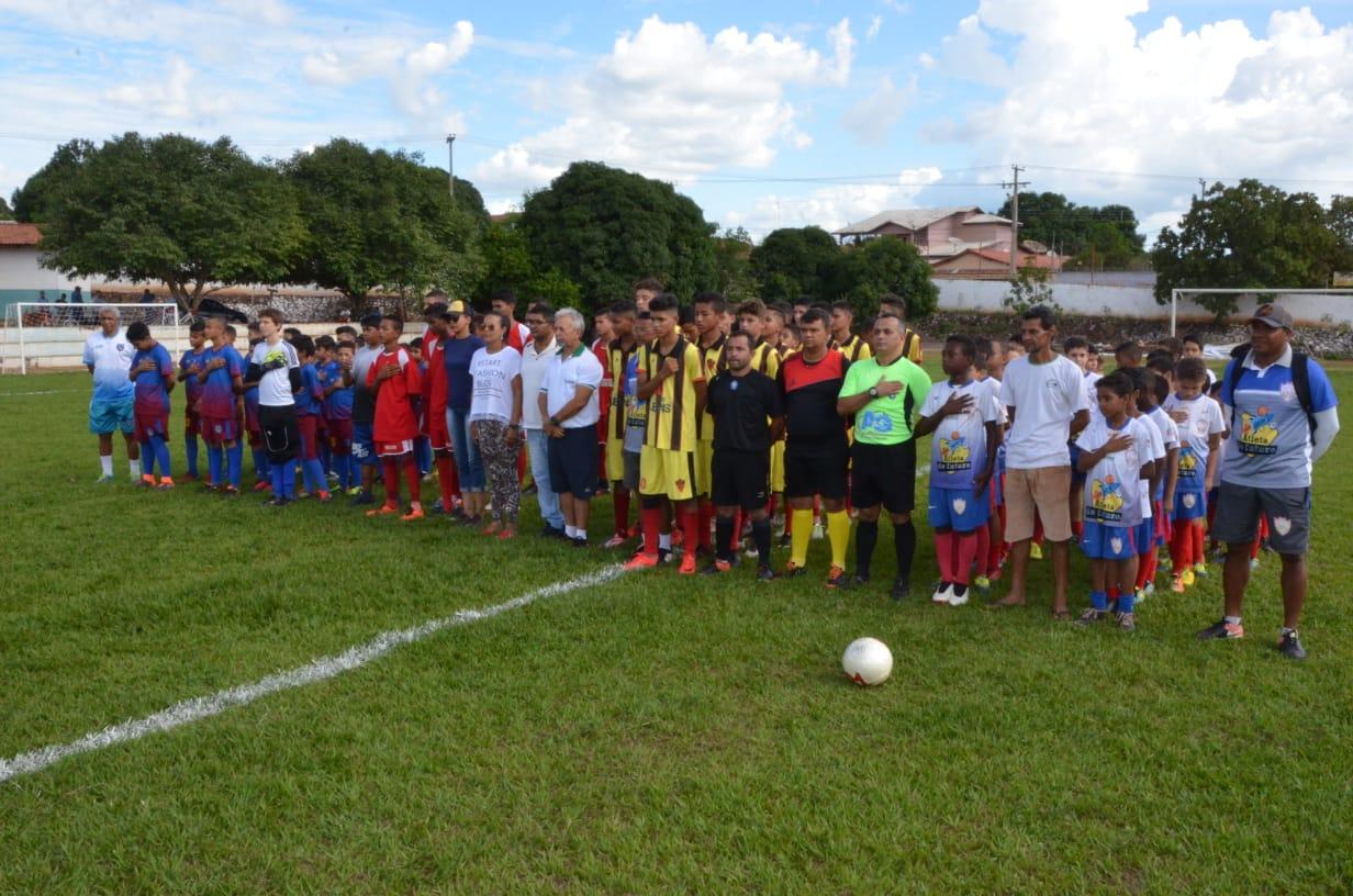 Prefeitura de Porto Nacional encerra com sucesso Campeonato Municipal de Futebol de Base