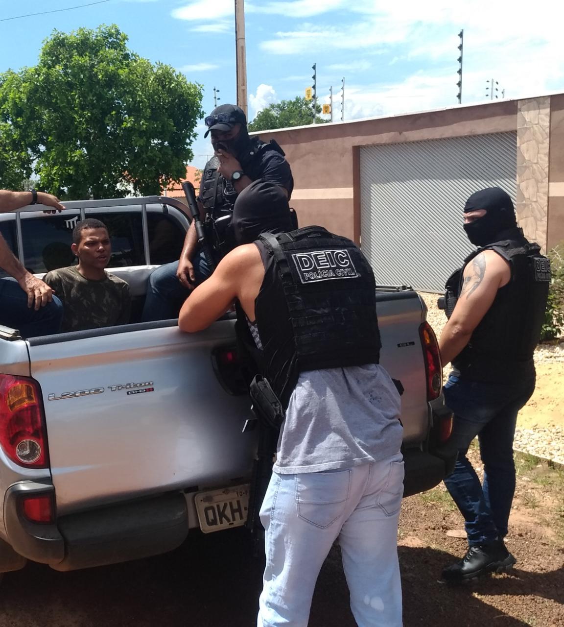 Polícia Civil prende mais dois envolvidos na explosão de caixa eletrônico da cidade de Abreulândia