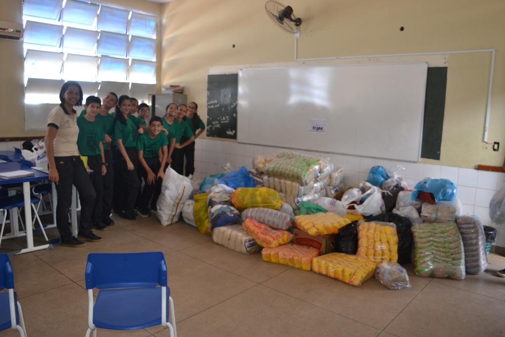 Colégio Militar de Paraíso (TO) realiza Gincana Solidária