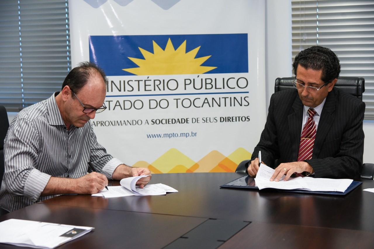 MPE e UFT celebram protocolo de intenções para elaboração de estudos técnicos em atuações de interesse social