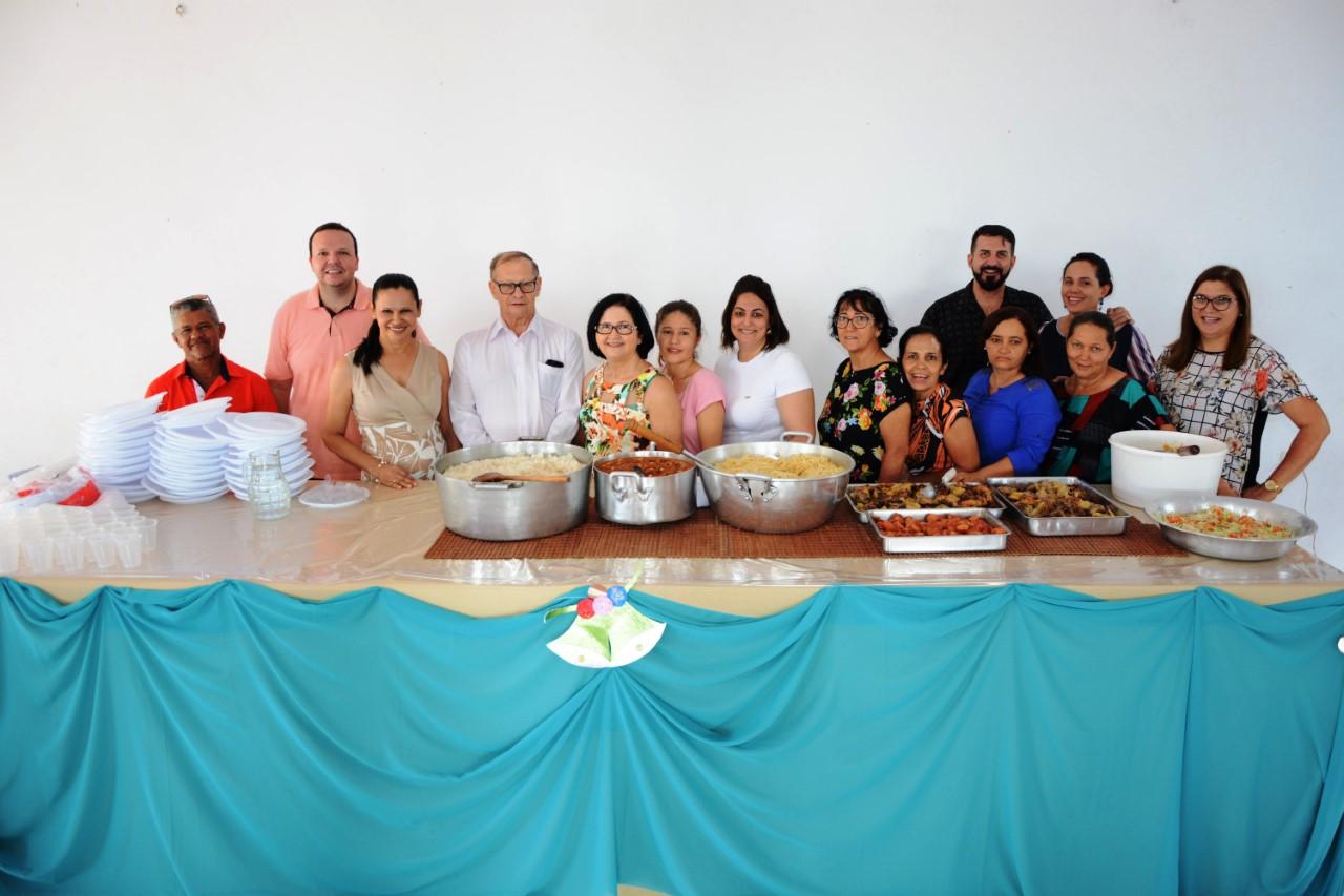 CAPS de Paraíso promove almoço de confraternização