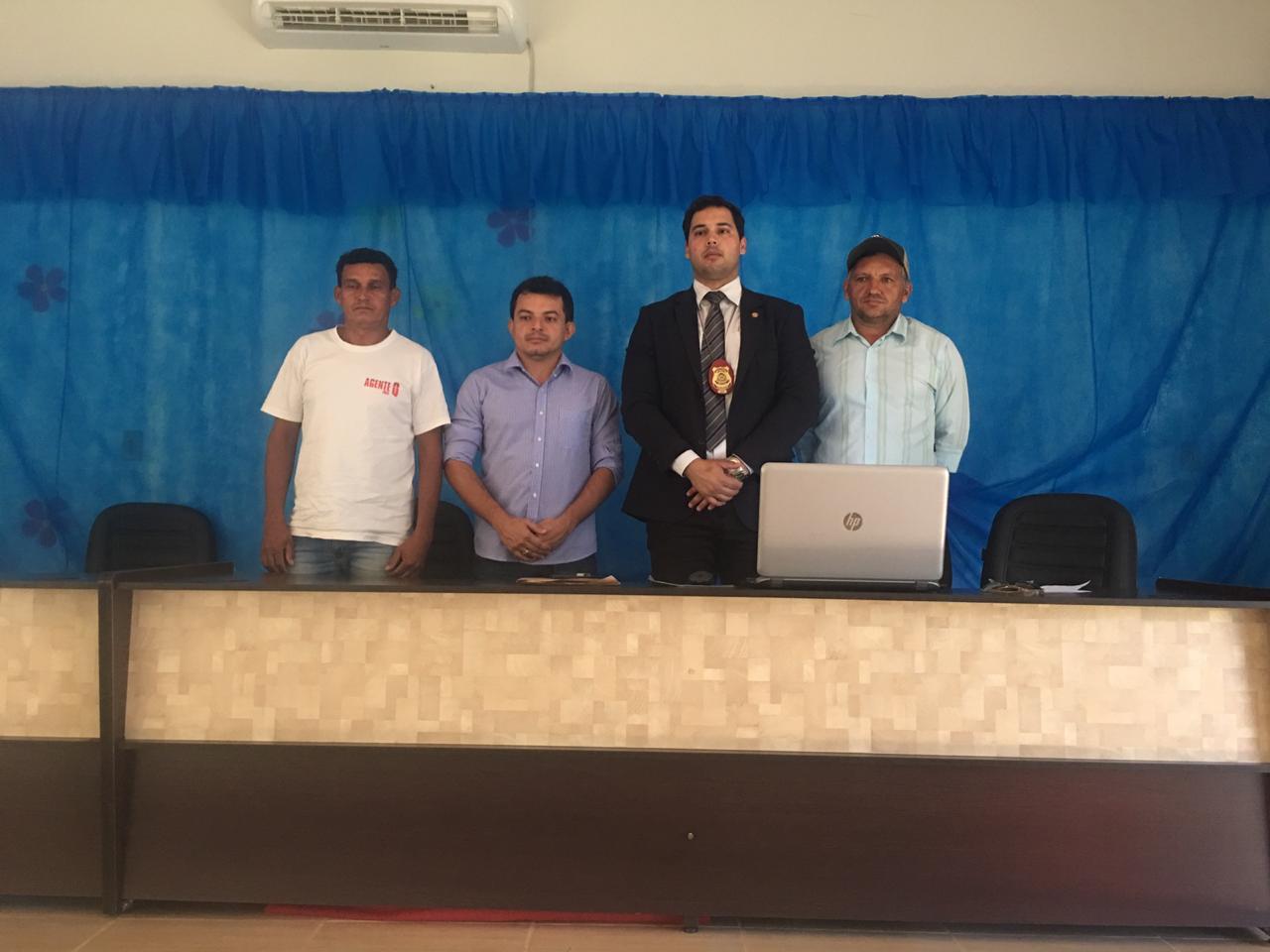 Polícia Civil realiza audiência pública em Chapada de Areia