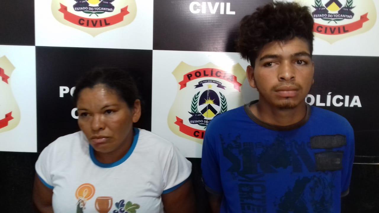 Polícia Civil prende mãe e filho suspeitos de praticar crimes diversos nos Sudeste do estado
