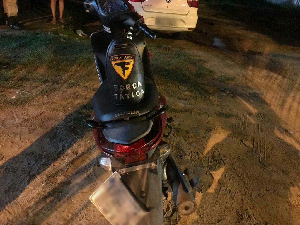 Polícia Militar captura três homens por roubo e recupera moto roubada em Araguaína