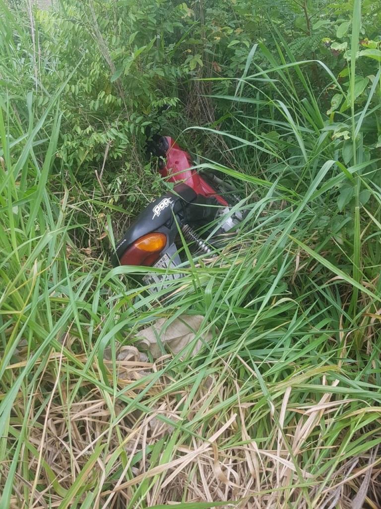 Polícia Militar recupera motocicleta em Araguaína