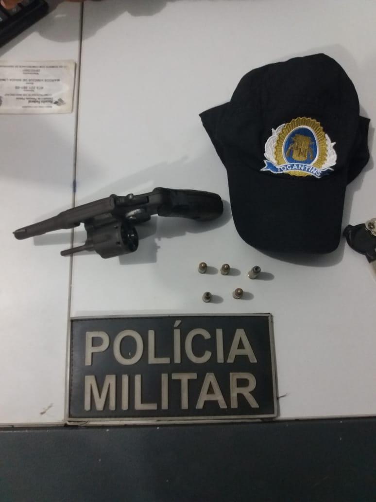 Mais uma arma de fogo é retirada de circulação pela Polícia Militar