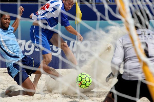 Arena Verão: vitórias do Timão e Guarujá, os líderes da primeira fase do Paulista de Beach Soccer