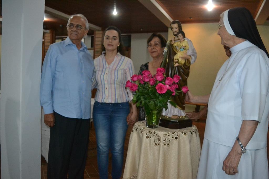 Prefeito Moisés Avelino abre sua propriedade para realização de Missa Campal em Paraíso (TO)
