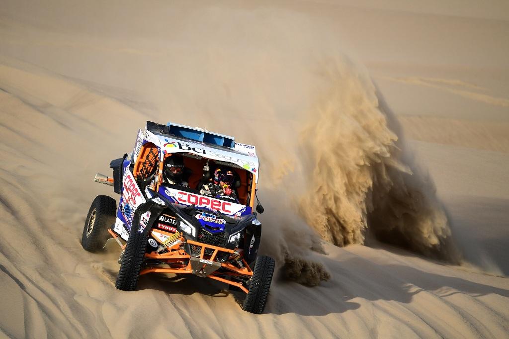 Can-Am Maverick X3 é campeão dos UTVs no Rally Dakar pelo 2º ano