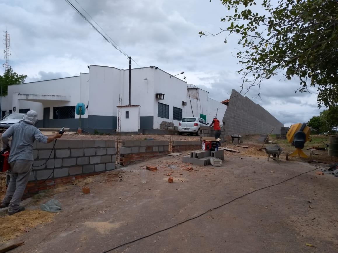 Muro de segurança na CPP de Guaraí é construído através de cooperação entre CPP e Vara Criminal