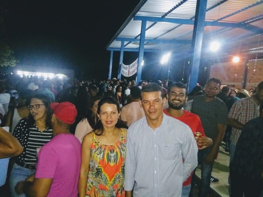 Prefeito de Marianópolis participa dos festejos de São Sebastião na Vila do Prata