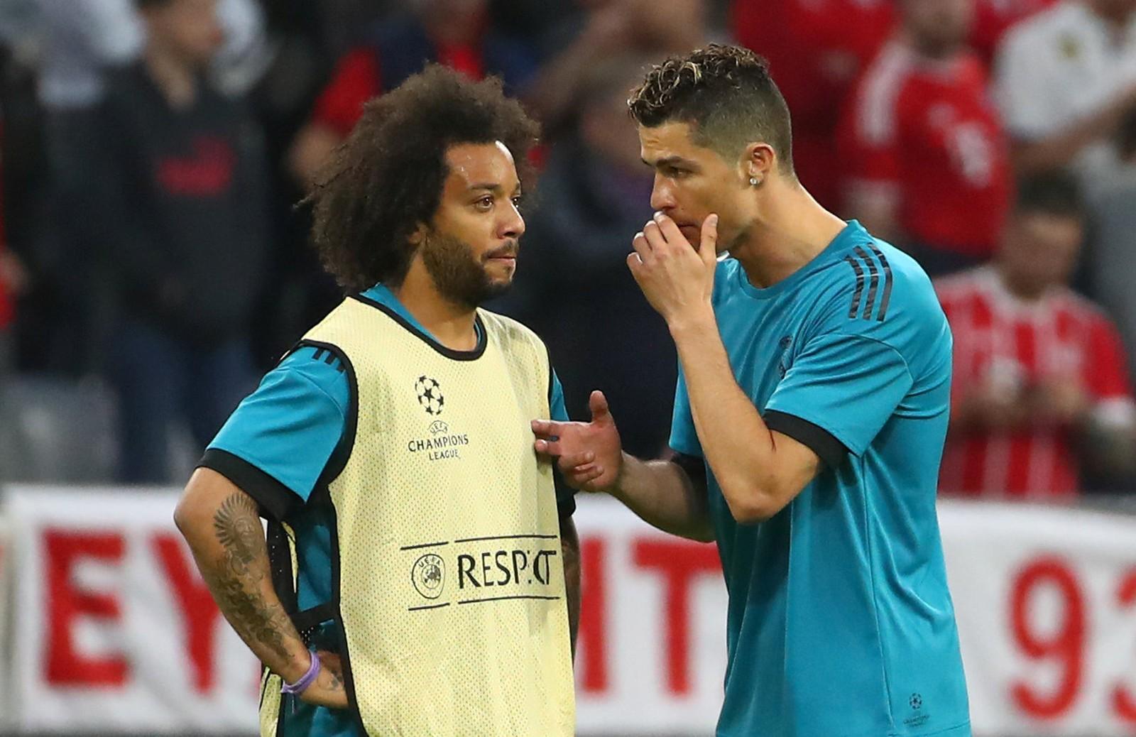 Cristiano Ronaldo está empenhado em levar Marcelo para a Juventus, diz jornal