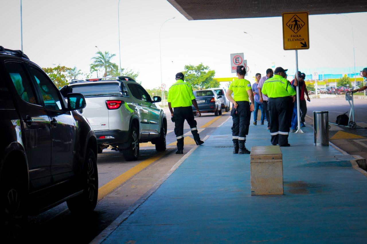 Em vistoria de rotina, Agentes de Fiscalização reforçam o combate ao transporte clandestino de passageiros