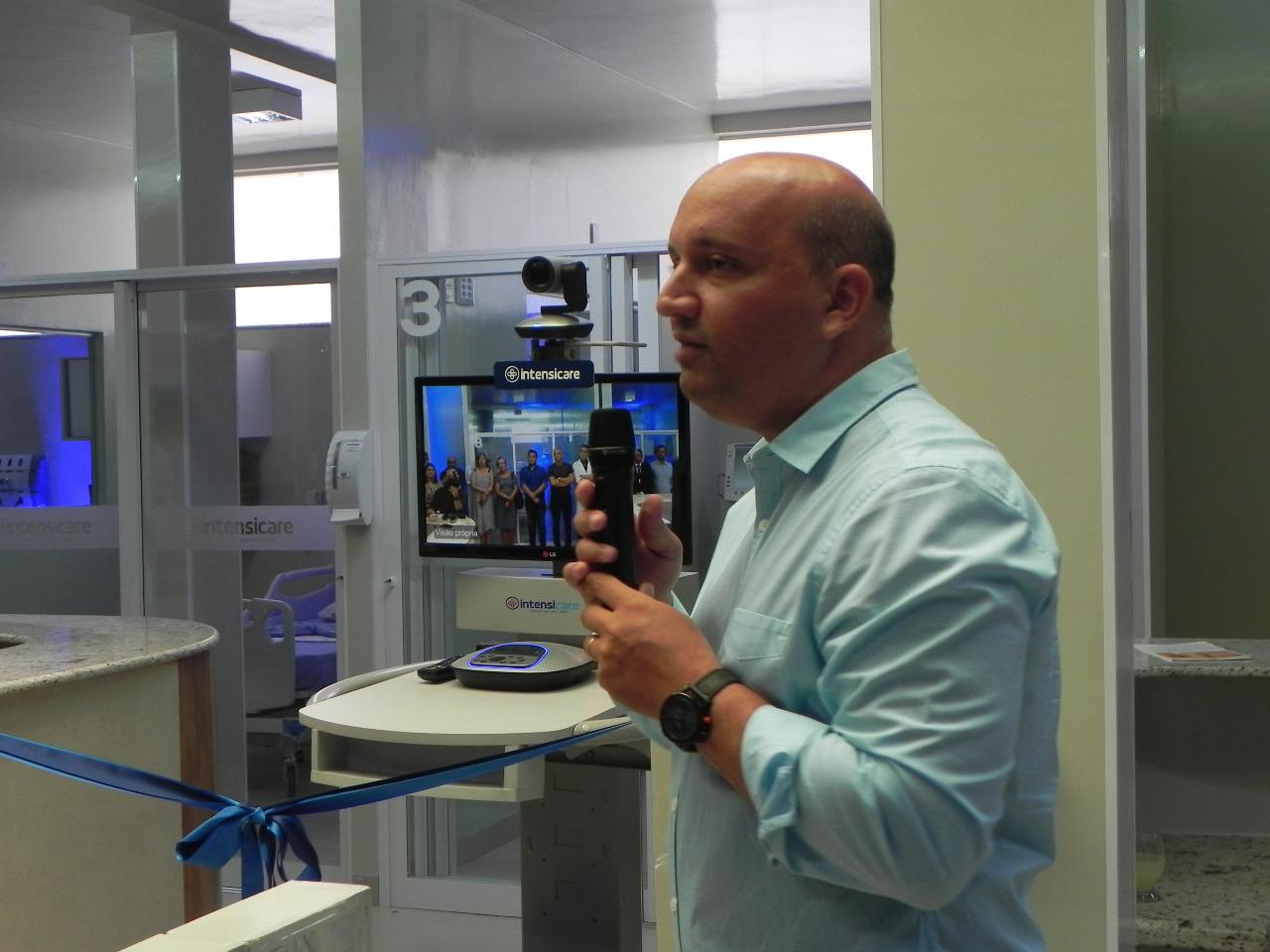 Leitos de UTI inteligentes, com melhores recursos tecnológicos e serviço de Tele AVC, são lançados em Palmas
