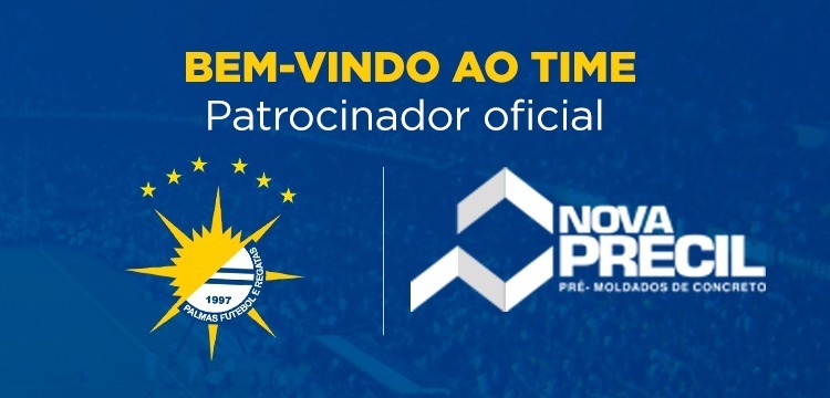 Nova Precil é a nova patrocinadora do Palmas Futebol e Regatas