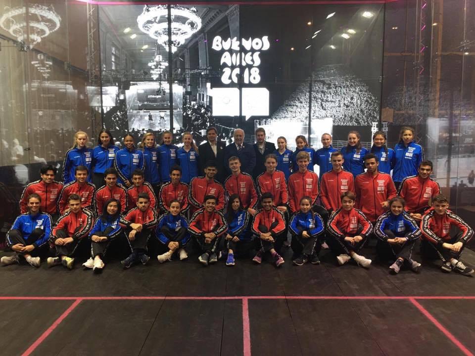 """Em busca do sonho olímpico em Paris-2024, squash lança campanha """"Squash Goes Gold"""""""