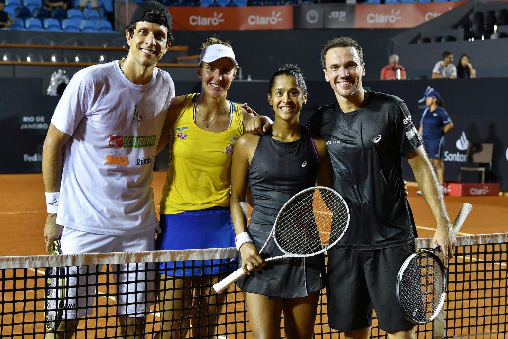 Melo e Soares estreiam nesta quarta-feira (20) no Rio Open