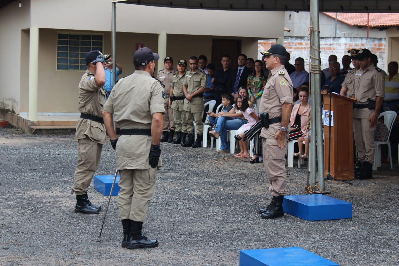 Polícia Militar realiza troca de comando em Colinas