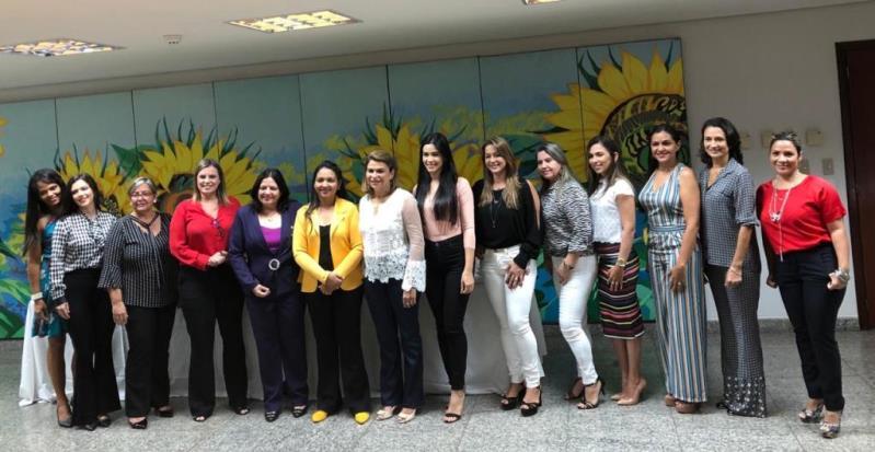 Esposas de parlamentares se unem para desenvolver ações sociais no Tocantins