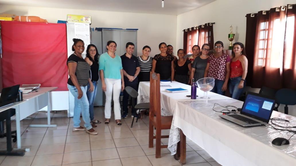 Merendeiras das escolas municipais de Monte Santo (TO) participam de formação