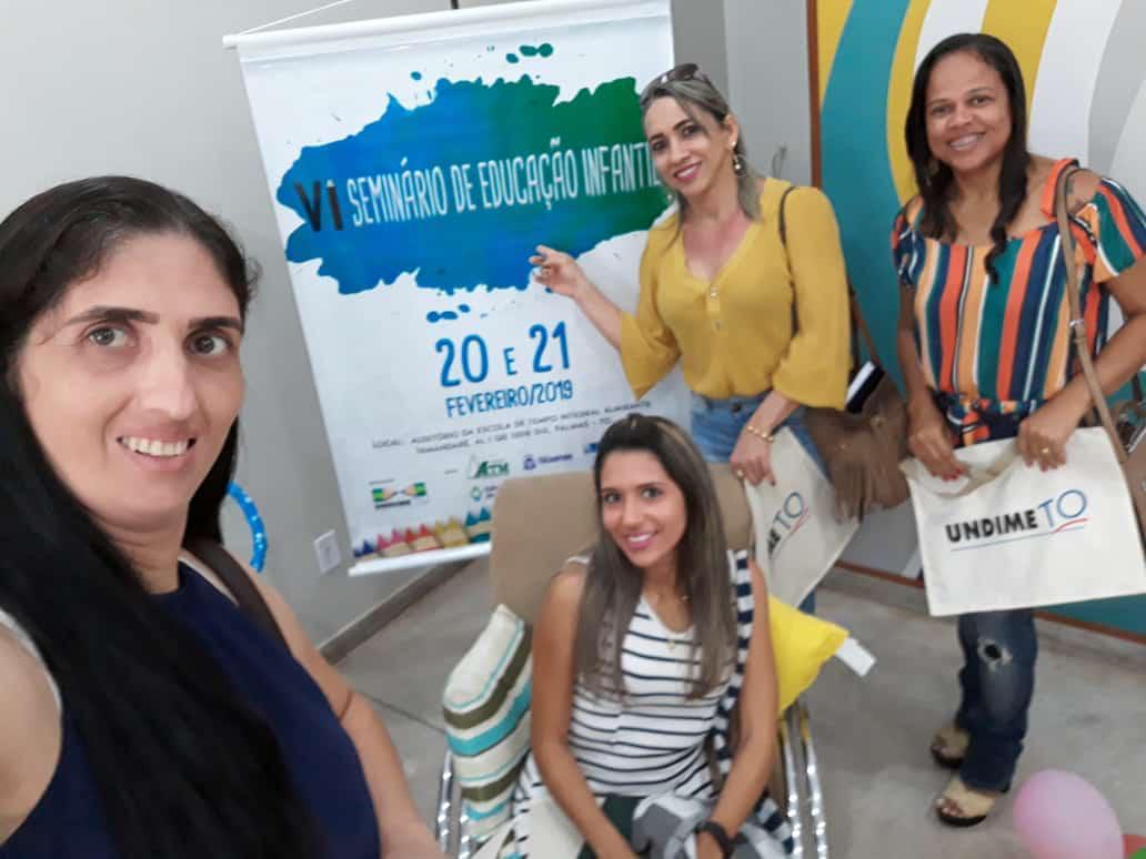 Representantes de Lagoa da Confusão participam de evento sobre Educação Infantil