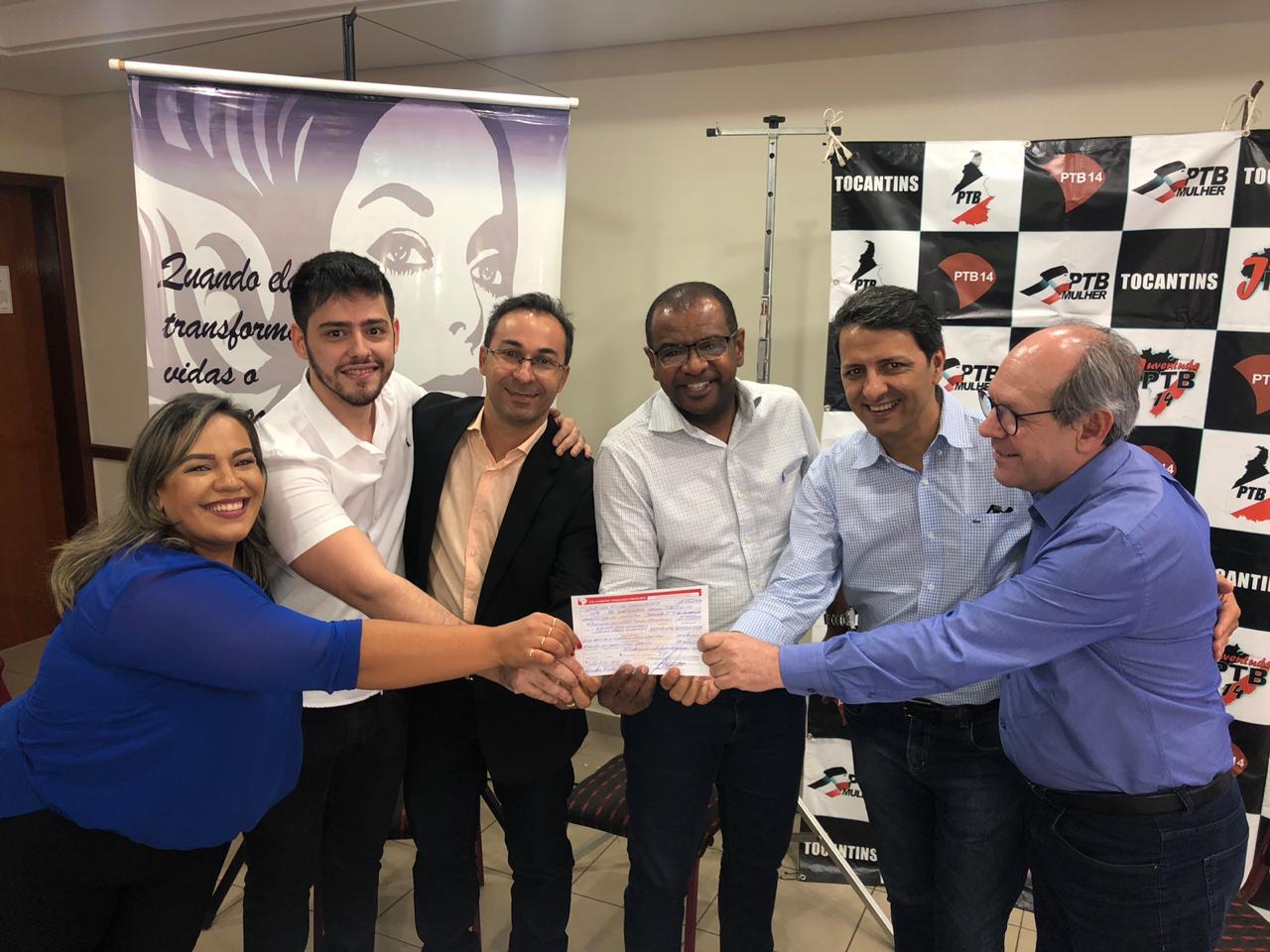 Fortalecido, PTB confirma Wagner Rodrigues no comando e indica José Geraldo como pré-candidato a prefeito de Palmas