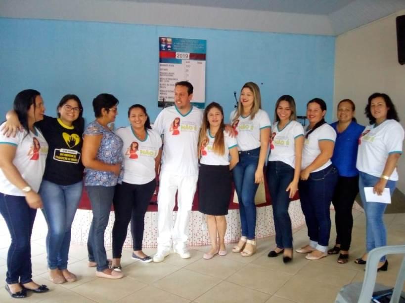 Prefeitura de Chapada de Areia encerra campanha de prevenção da gravidez na adolescência