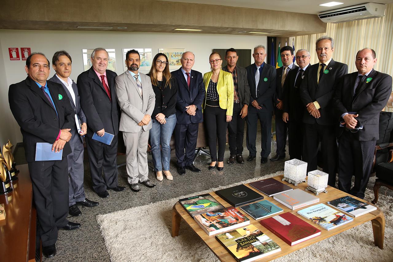 Diálogo com entidades ligadas ao sistema judicial marca início da agenda institucional do presidente do TJTO