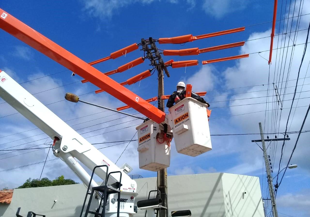 Energisa segue com cronograma de obras em mais 18 municípios no Estado