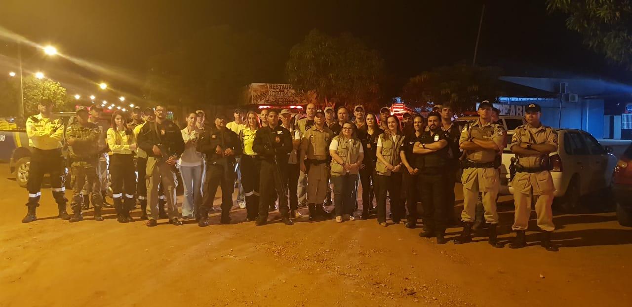 Forças de Segurança estaduais participam de mais uma fase da Operação Paz e Sossego na Capital