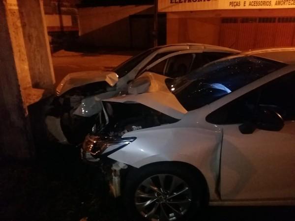 Taxista morre no hospital após ficar ferido em acidente durante corrida