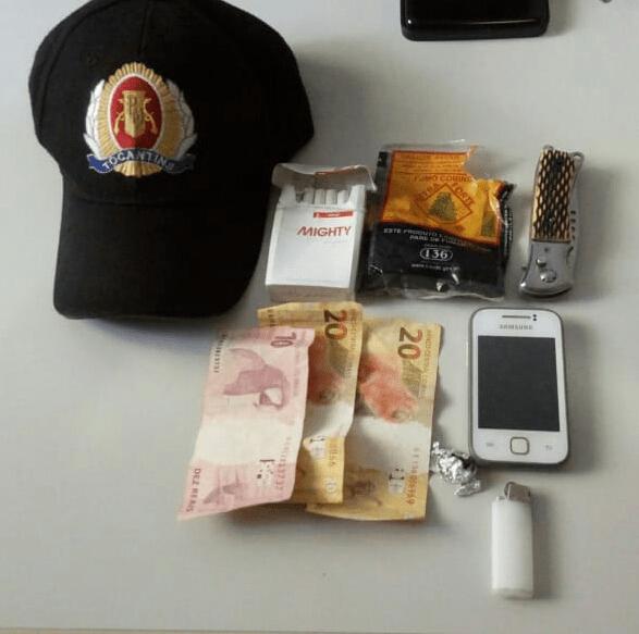 Polícia Militar detém homem por posse de entorpecentes em Xambioá
