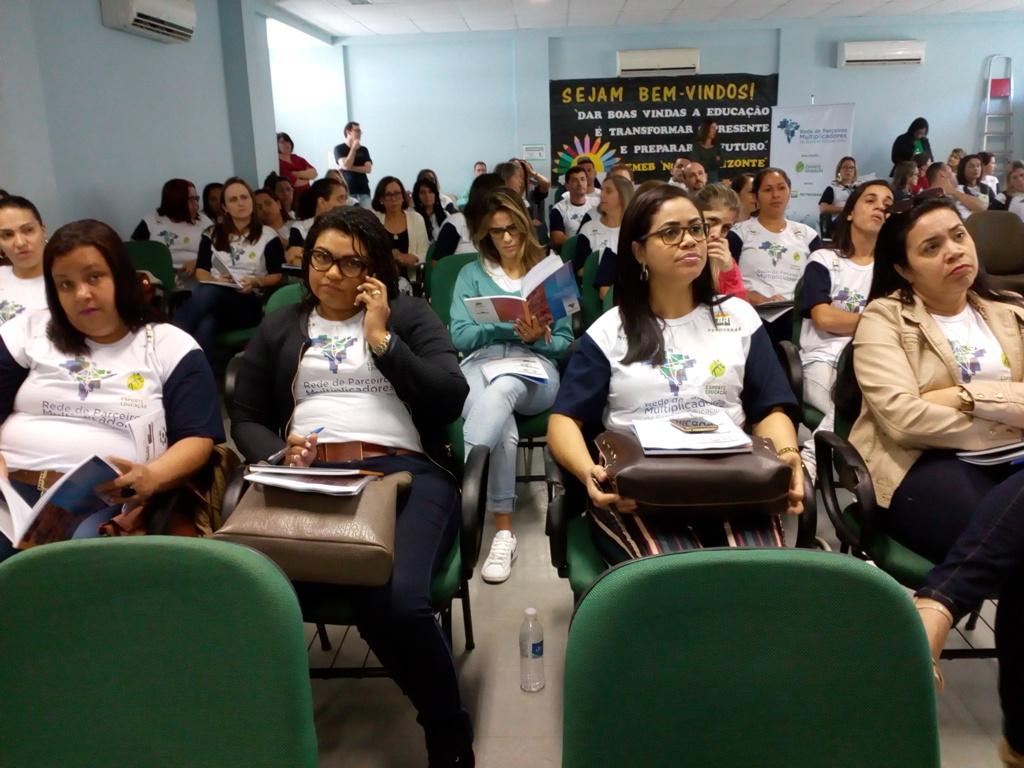 Professores do Ceará e Rio Grande do Sul são capacitados em esporte educacional por IEE e Petrobras