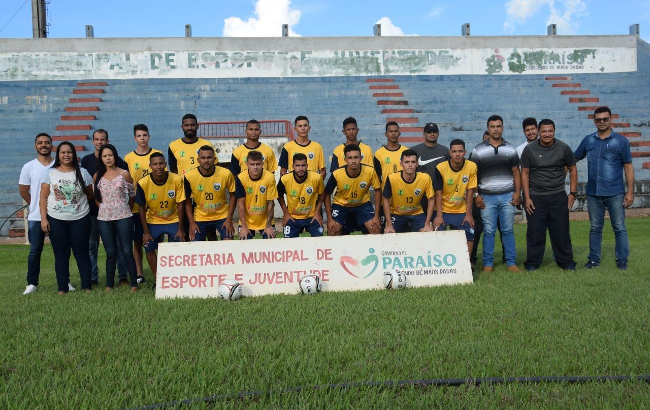 Diretoria do Atlético Cerrado apresenta parte do elenco para o Tocantinense 2019