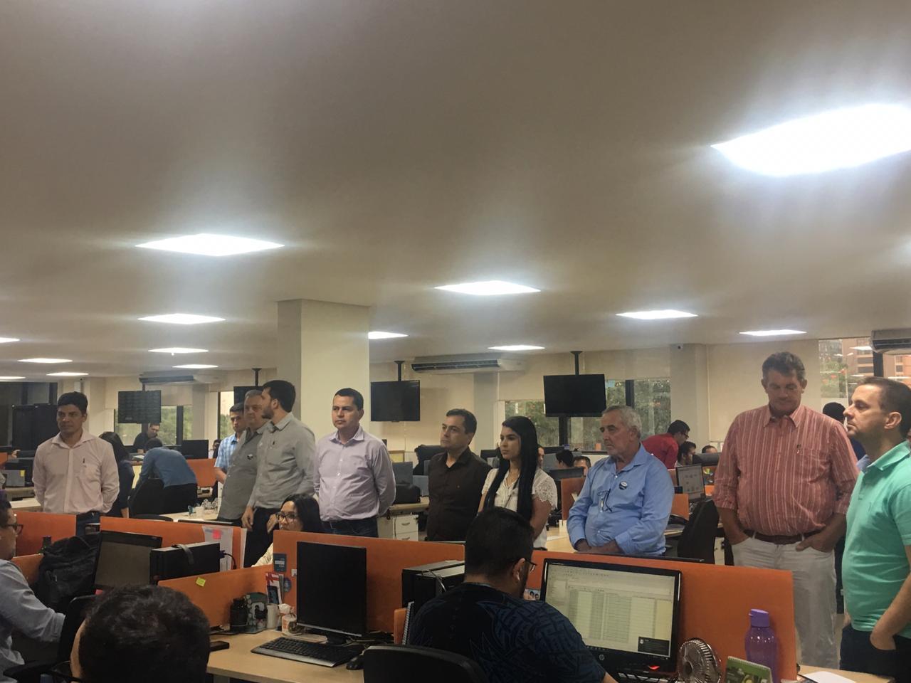 Conselheiros visitam Centro Cooperativo do Sicoob em Brasília (DF)