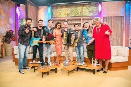 Faa Morena recebe Grupo Tradição, Gaúcho da Fronteira e Tia