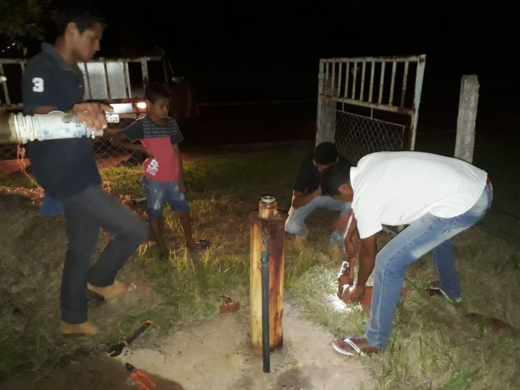 Prefeitura de Monte Santo contrata técnicos para realizar reparos em bomba e normalizar abastecimento de água