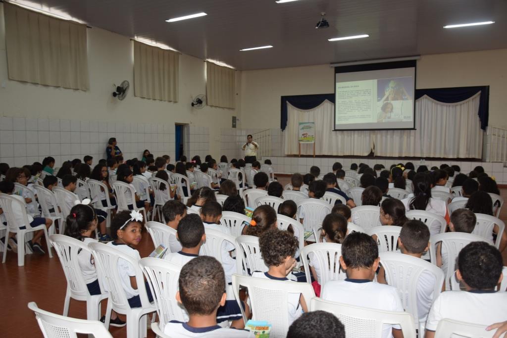 Semana da Água: BRK Ambiental realiza palestras em escolas de Paraíso