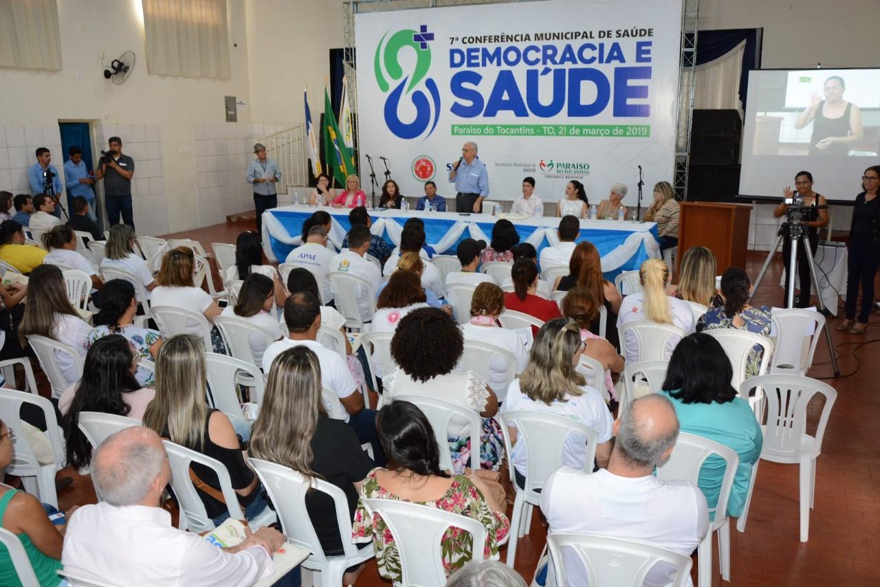 Moisés Avelino e Celso Morais participam da 7ª Conferência Municipal de Saúde