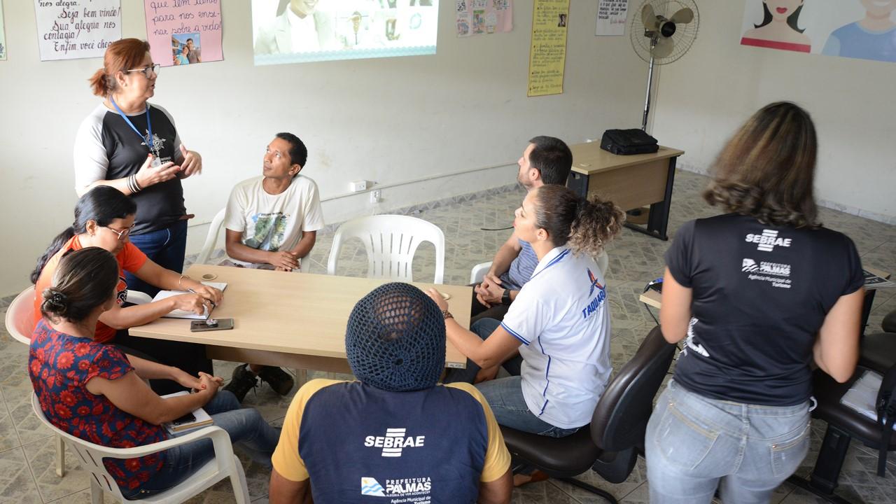 Empreendedores de Taquaruçu participam do curso Agenciamento Receptivo