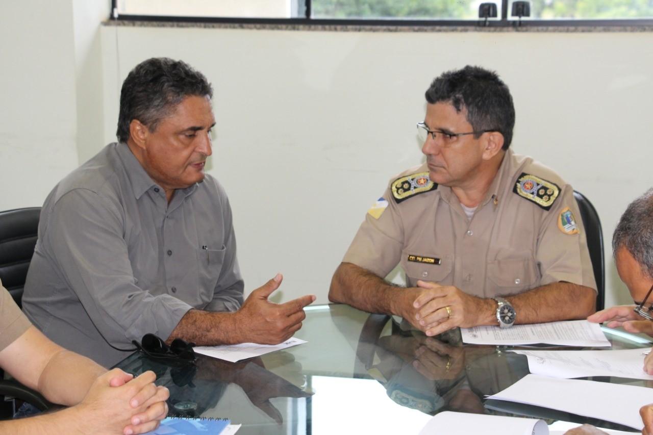 PM e prefeitura de Taguatinga firmam parcerias para reforçar a segurança na cidade e região