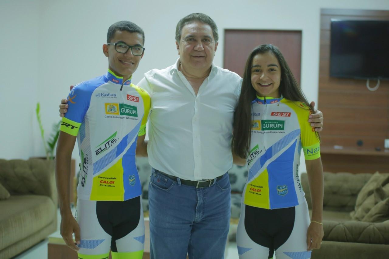 Ciclistas gurupienses recebem incentivo da prefeitura de Gurupi