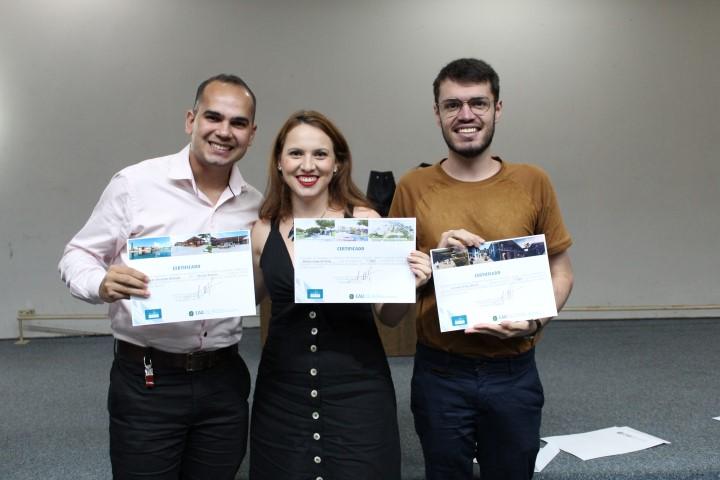 Concurso de TCC's premia ganhadores em solenidade no auditório do Sebrae TO