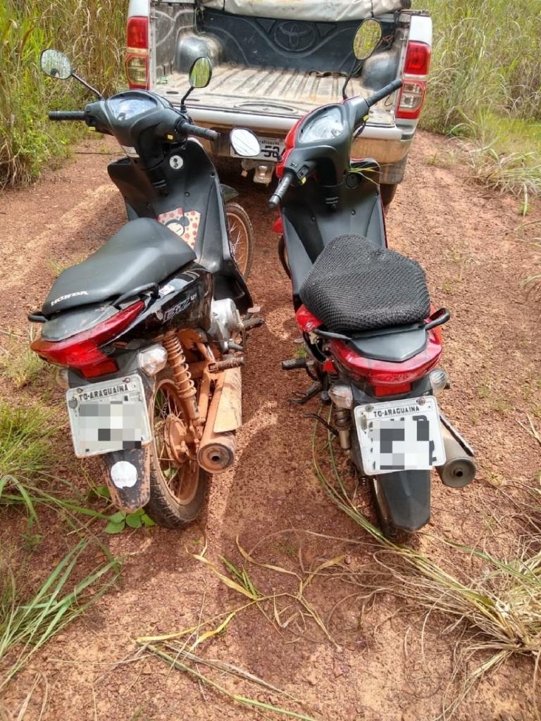 Polícia Militar apreende adolescentes por roubo e recupera motos e celulares roubados em Araguaína