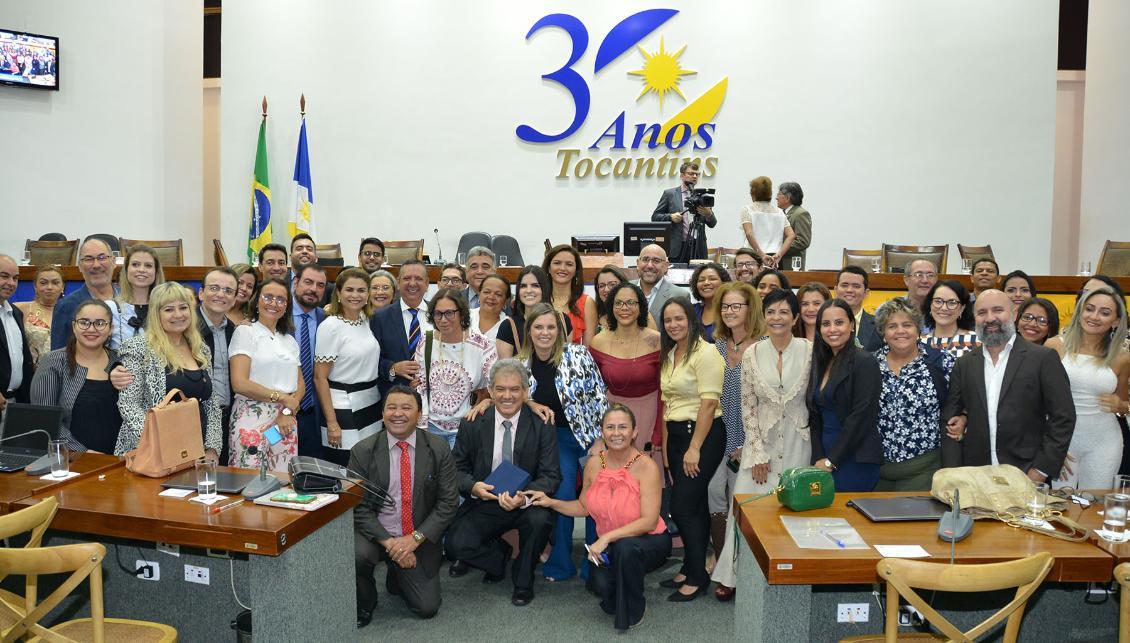 Sessão solene marca homenagem a jornalistas do Tocantins