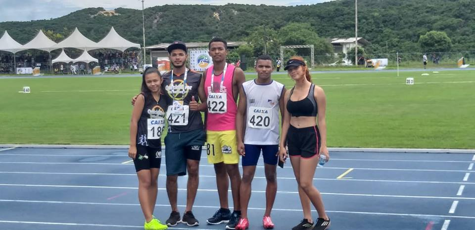 Estudantes de Marianópolis participam de competição nacional de atletismo em Natal