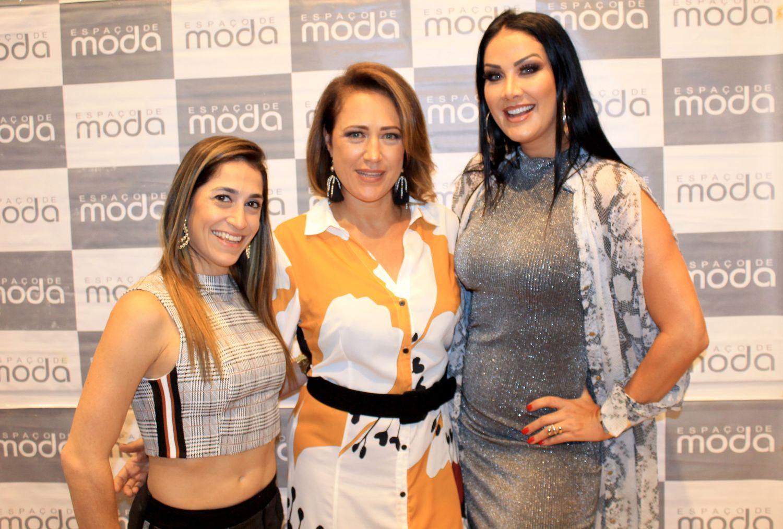 Helen Ganzarolli e Daniele Hypólito participam do Fashion Show em SP