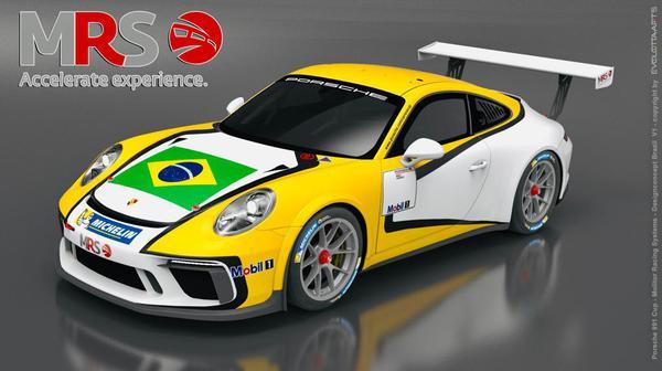 Fernando Croce será o único brasileiro a disputar o Porsche Mobil SuperCup